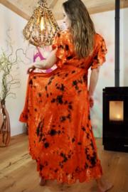 Ibzia Dress Oranje