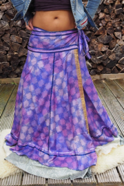 Bohemian Goddess Silk Skirt 67