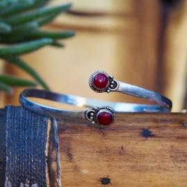 Tribal Bovenarm Double Red
