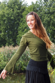 Ishtar Top Bamboo/Cotton Groen