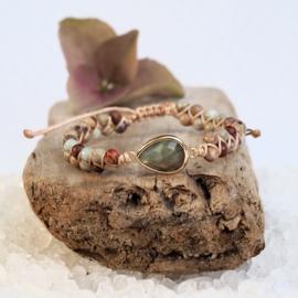Handgemaakte Natural stone Labradoriet
