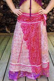 Bohemian Goddess Silk Skirt 271