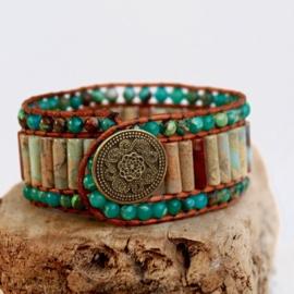 Handgemaakte Natural stone Bracelet