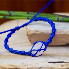 Braided Stone Donkerblauw