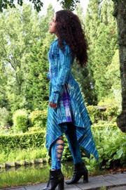 Elven Tie Dye Turquoise/Paars