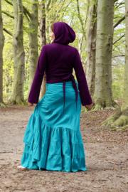 Flamenco Skirt Turquoise