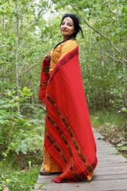 Bali Sjaal Omslagdoek Rood