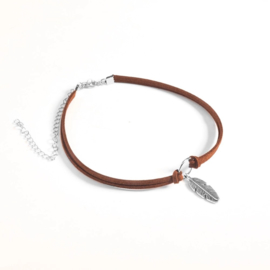 Vintage feather Choker