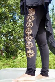 Small Chakra Legging Black