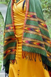 Bali Sjaal Omslagdoek Groen