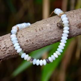 Amazoniet Rustgevende Armband