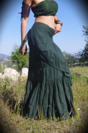 Flamenco Skirt Groen
