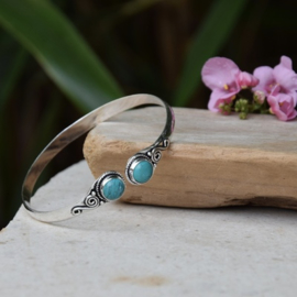 Double Princess Turquoise Armband