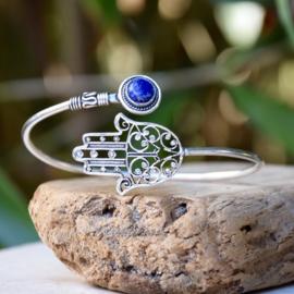 Hand van Fatima Lapis Armband