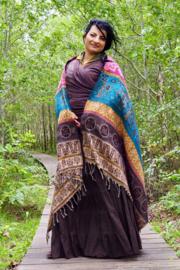 Herfst Sjaal Double Colour