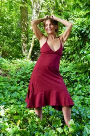 Angel Dress Marroonrood