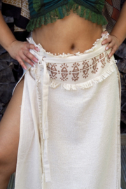 Tribal Skirt Beige