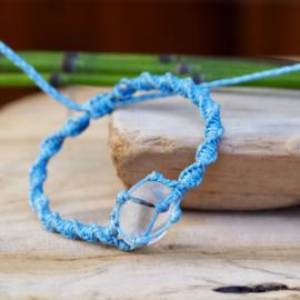 Braided Stone Lichtblauw