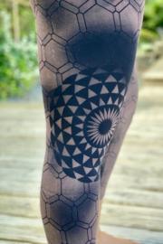 Flower Brown Legging