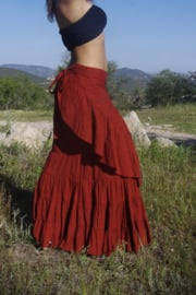 Flamenco Skirt Rood