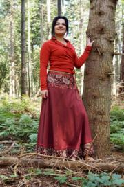 Samaya Skirt Donkerrood