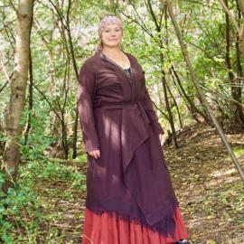 'Earth collection' Namaste Kimono Donkerbruin