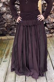 Queen Skirt Donker Bruin
