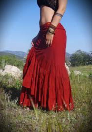 Flamenco Skirt Rood