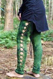 Tie Dye Legging Fern Green