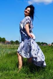 Ibzia Dress Grijs