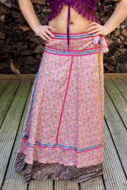 Bohemian Goddess Silk Skirt 273
