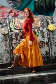 Real Gypsy Skirt  Oranje/ Oker