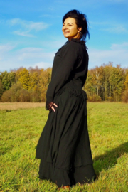 Wrap Skirt Earth Collection Zwart