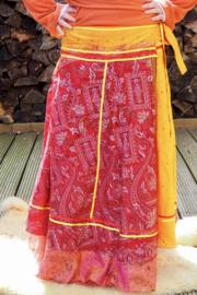 Bohemian Goddess Silk Skirt 249