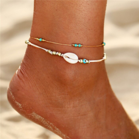 Anklet Blue Rainbow