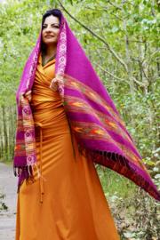 Bali Sjaal Omslagdoek Paars