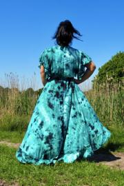 Ibzia Dress Aqua