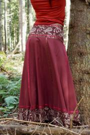 Samaya Skirt Donkerrood Extra Breed