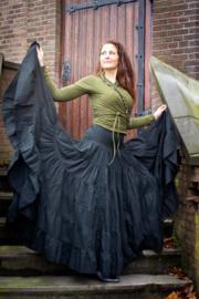 Real Gypsy Skirt Zwart
