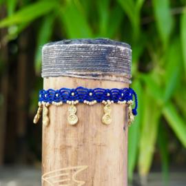 Anklet Infinity Blauw