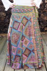 Bohemian Goddess Silk Skirt 199