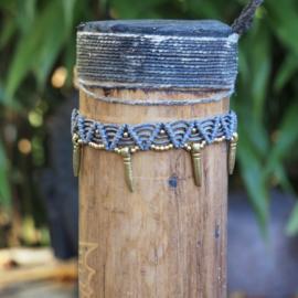 Anklet Fama Blue/Grey