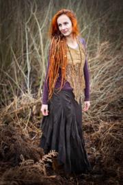 Avalon Flamenco Skirt Bruin