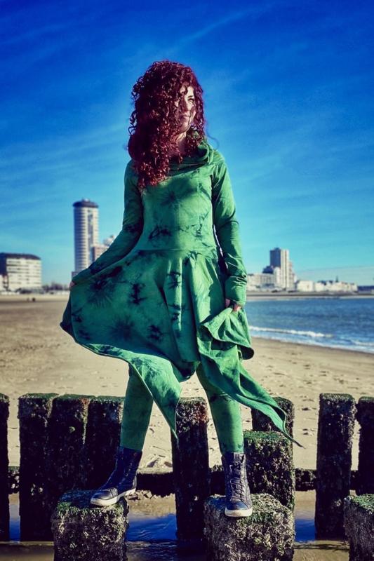 Elven Tie Dye Green