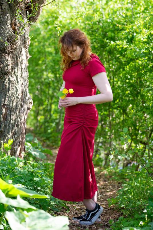 Gaia Dress Rood
