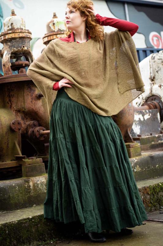 Real Gypsy Skirt Groen