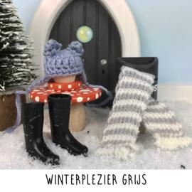 Winterplezier grijs