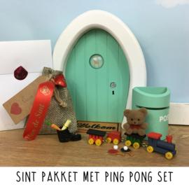 Sint Pakket met ping pong set
