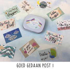 Goed Gedaan Post 1