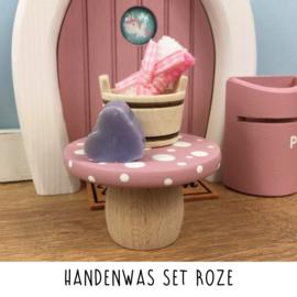 Handenwas set roze